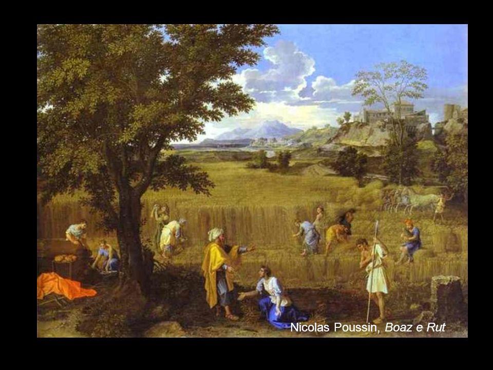 4 Nicolas Poussin, Boaz e Rut