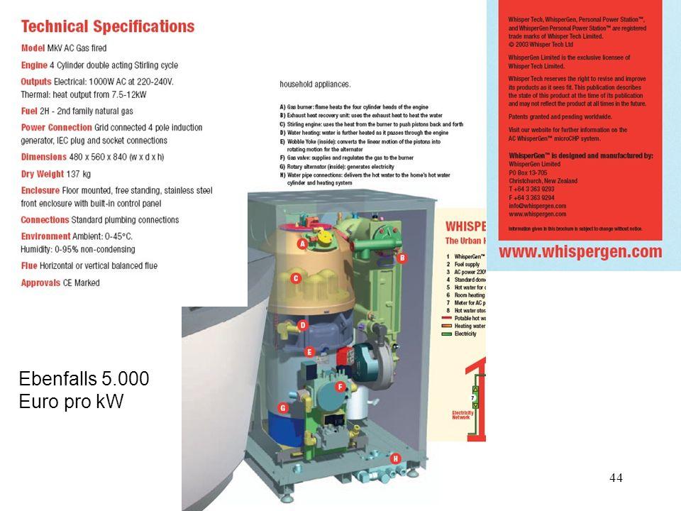 44 Ebenfalls 5.000 Euro pro kW