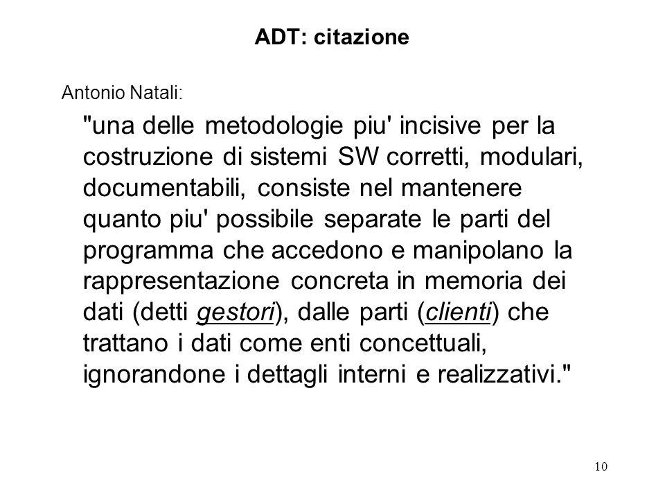 10 ADT: citazione Antonio Natali: