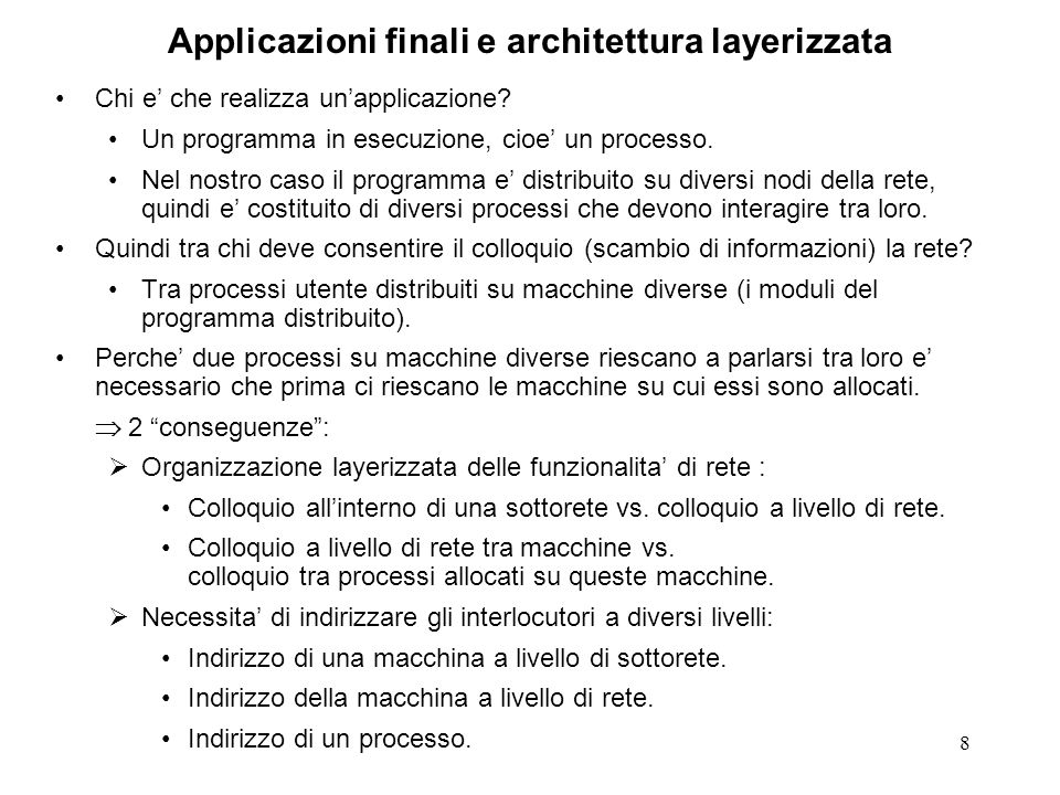 69 COTS: servizio T-EXPEDITED-DATA (ISO 8072) The expedited data transfer service provides a further means of information exchange on a TC in both directions simultaneously.