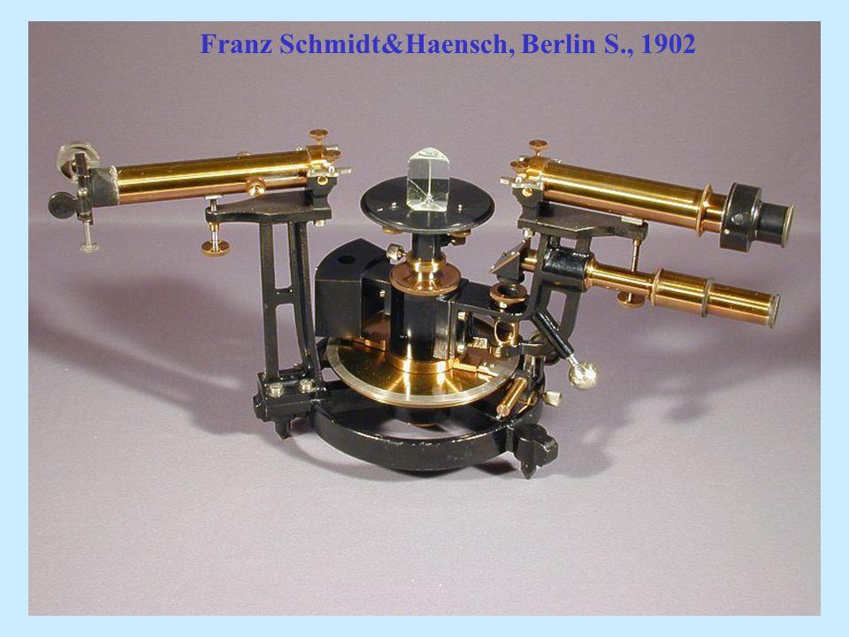Franz Schmidt&Haensch, Berlin S., 1902