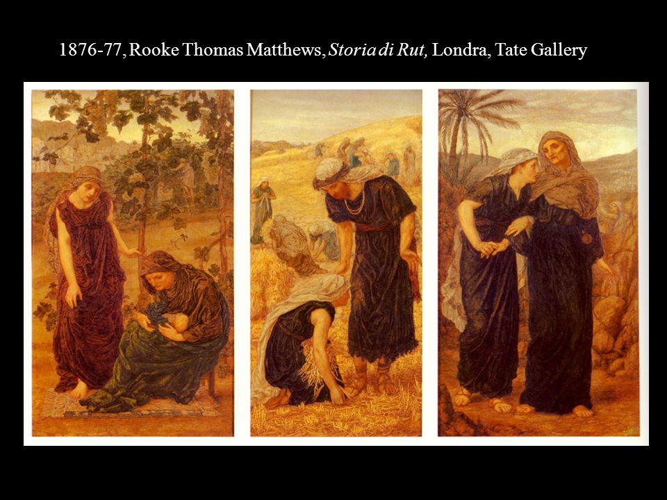 1876-77, Rooke Thomas Matthews, Storia di Rut, Londra, Tate Gallery