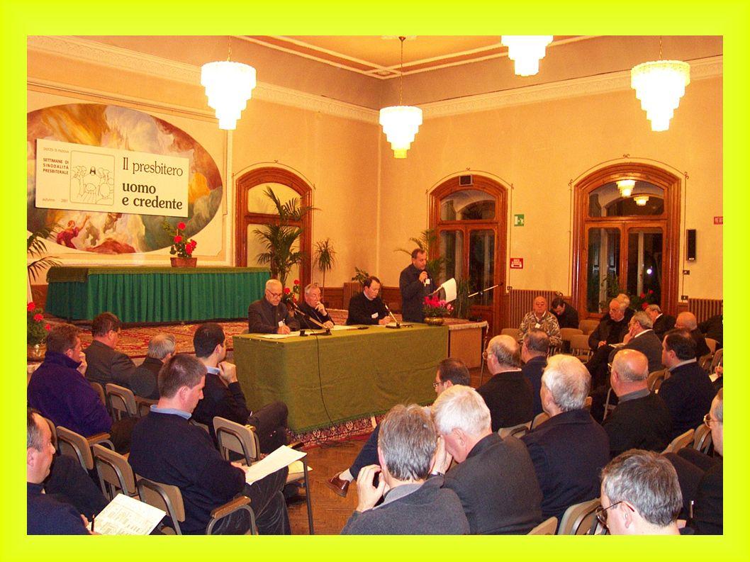 SETTIMANE DI SINODALITÀ autunno 2004 Unire FEDE e VITA