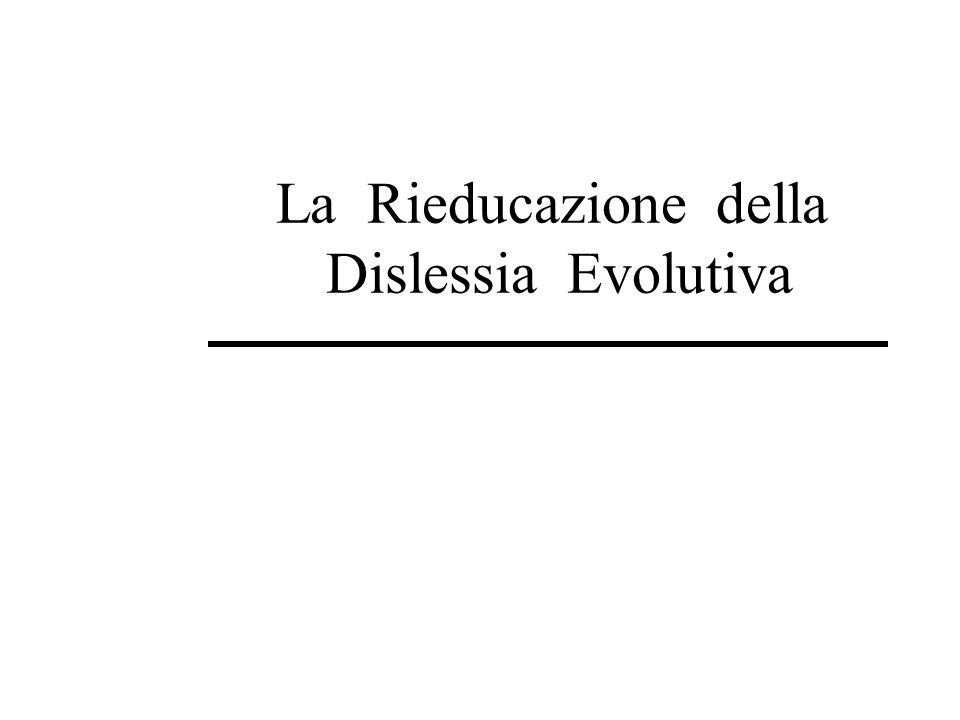 F81 - Disturbi evolutivi specifici delle abilità scolastiche F81.0 – Disturbo specifico di lettura F81.1 – Disturbo specifico della compitazione F81.2 – Disturbo specifico delle abilità aritmetiche F81.3 – Disturbi misti delle abilità scolastiche F81.8 – Altri disturbi evolutivi delle abilità scolastiche F81.9 – Disturbi evolutivi delle abilità scolastiche non specificati