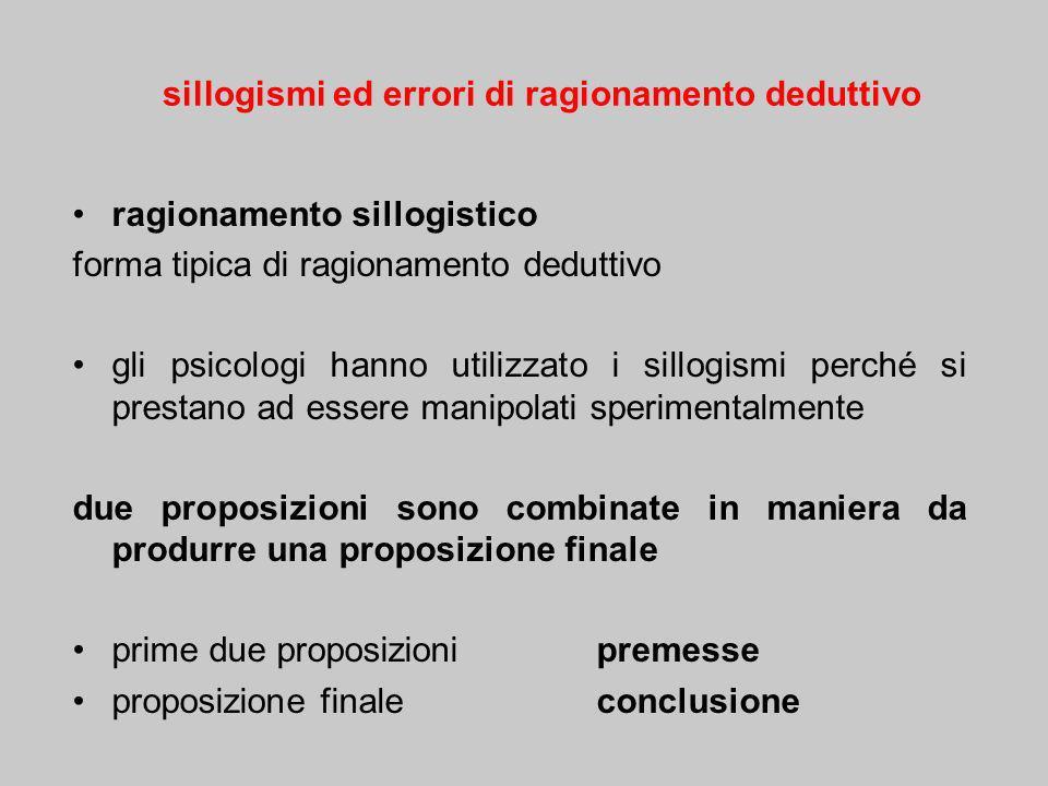 in cui è usata il connettivo linguistico se la premessa maggiore è costituita da due proposizioni connesse da se ….