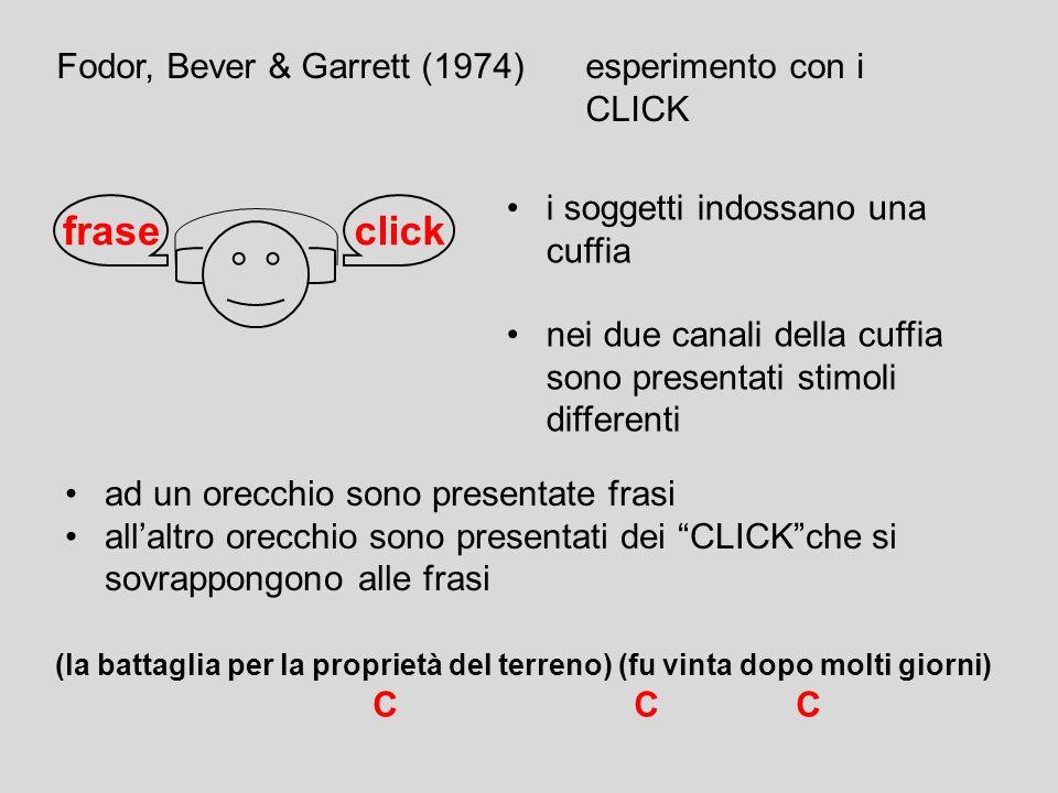 psicolinguistica degli anni 60 caratterizzata dal tentativo di verificare la grammatica generativo-trasformazionale con studi sperimentali ipotesi gen