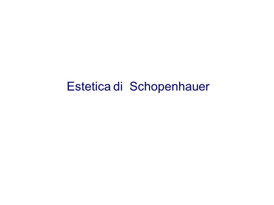 Estetica di Schopenhauer