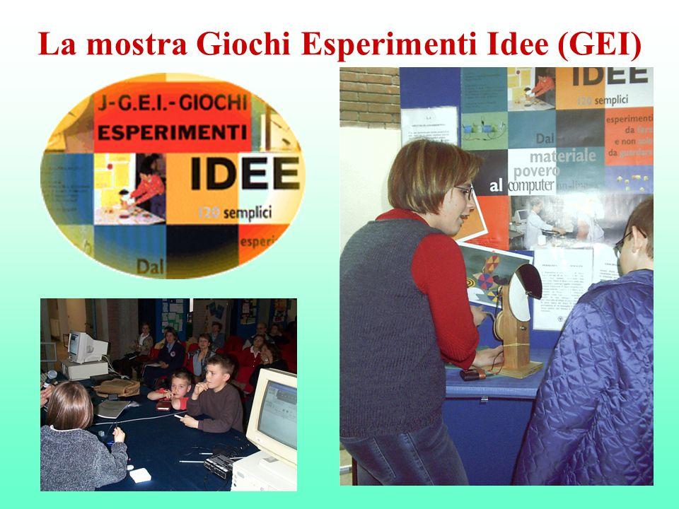 La mostra Giochi Esperimenti Idee (GEI)