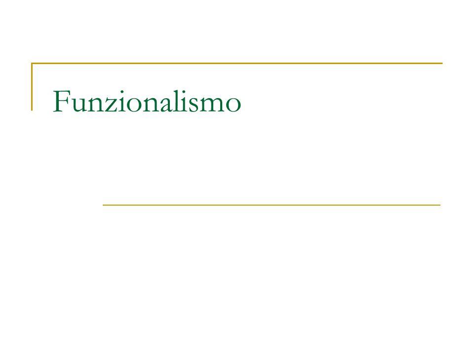 Funzionalismo