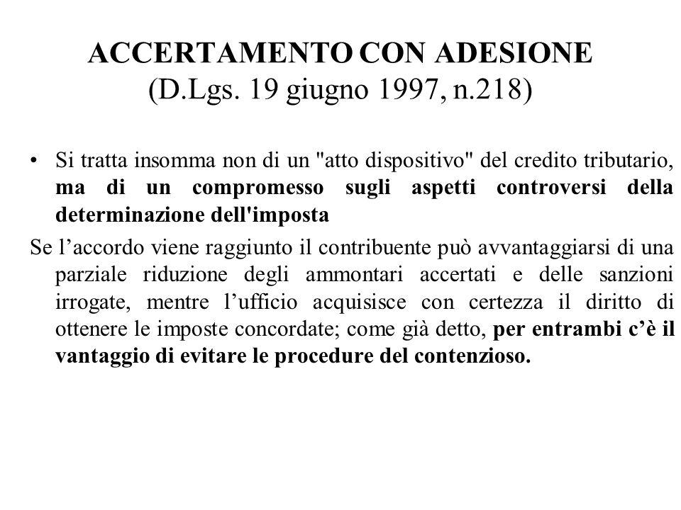 98 PROPOSTA DI CONCILIAZIONE NON GIUDIZIALE ECC.MA COMMISSIONE TRIBUTARIA PROVINCIALE DI....