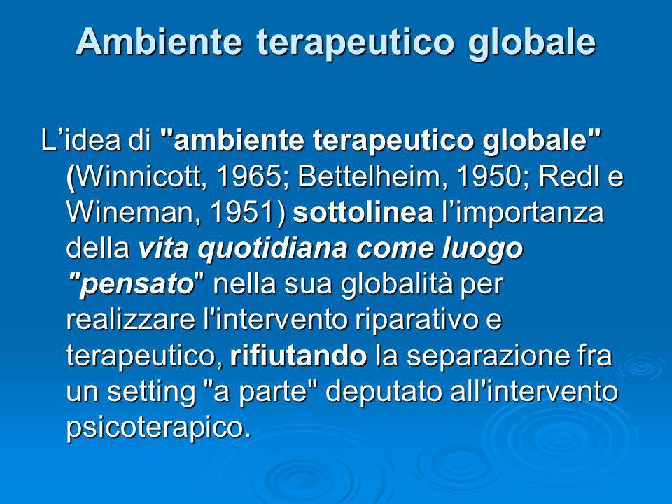 Ambiente terapeutico globale Lidea di