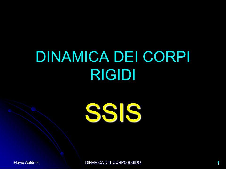 Flavio Waldner DINAMICA DEL CORPO RIGIDO 1 DINAMICA DEI CORPI RIGIDI SSIS