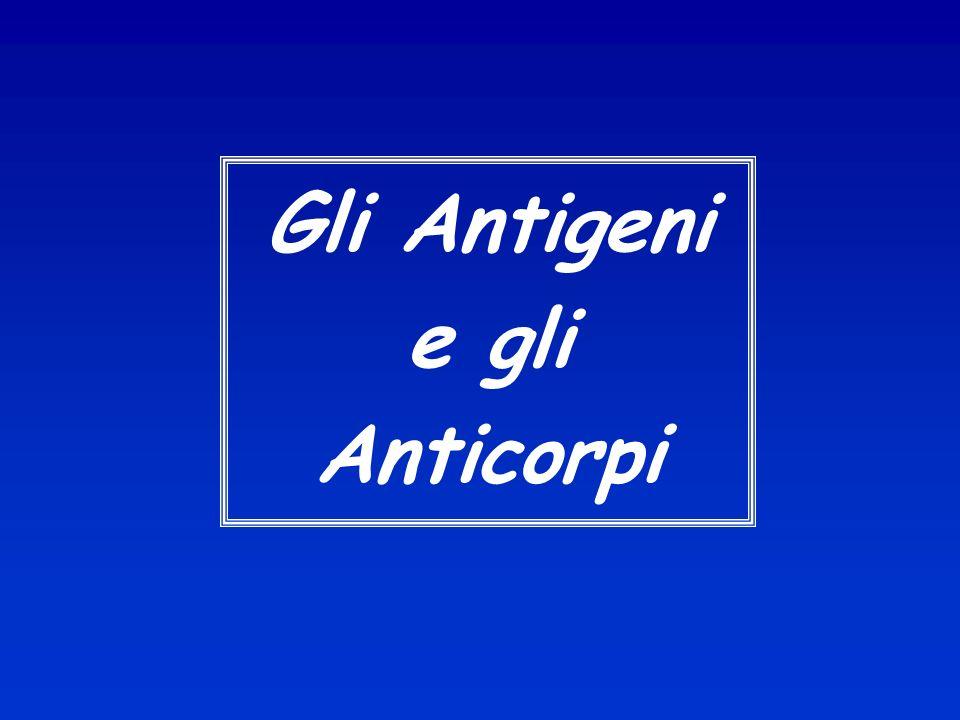 Gli Antigeni e gli Anticorpi