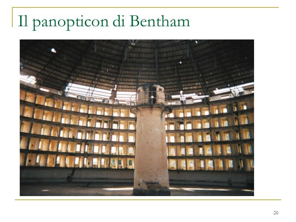 Il panopticon di Bentham 20