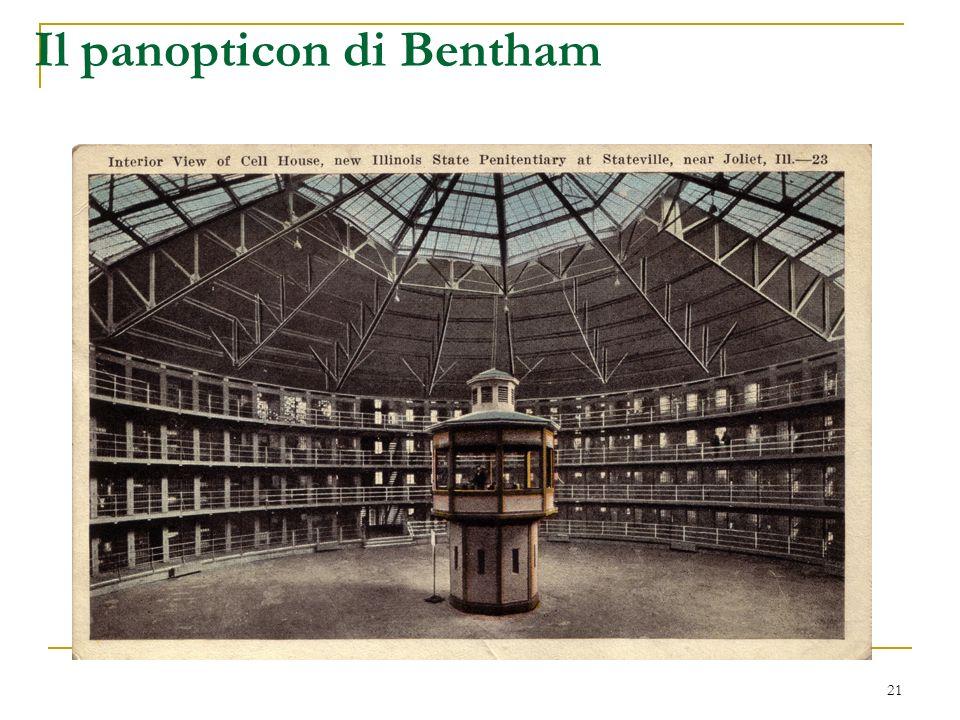 21 Il panopticon di Bentham