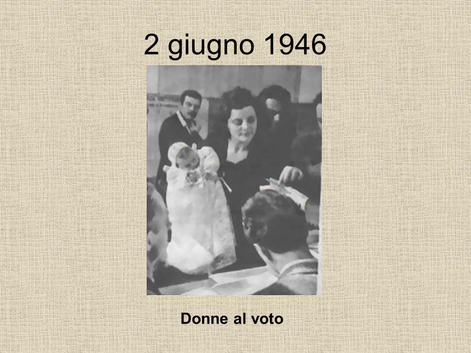 2 giugno 1946 Donne al voto