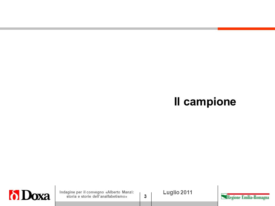 24 Luglio 2011 Indagine per il convegno «Alberto Manzi: storia e storie dellanalfabetismo» Oggi Lei ritiene di avere un maestro, un punto di riferimento da cui imparare.