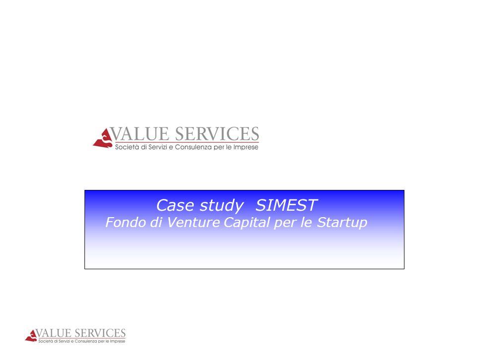 Case study SIMEST Fondo di Venture Capital per le Startup