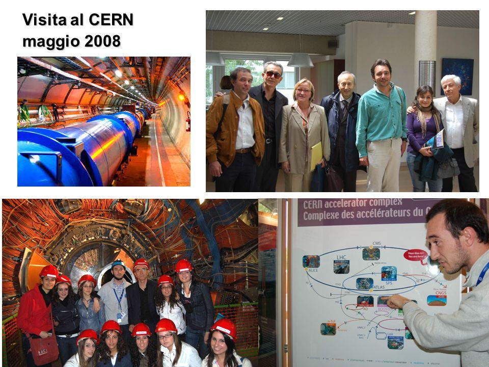 Visita al CERN maggio 2008