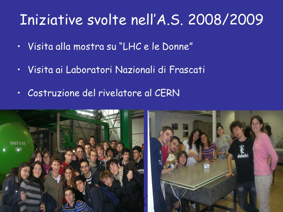 Liceo Scientifico A. Scacchi - Bari -