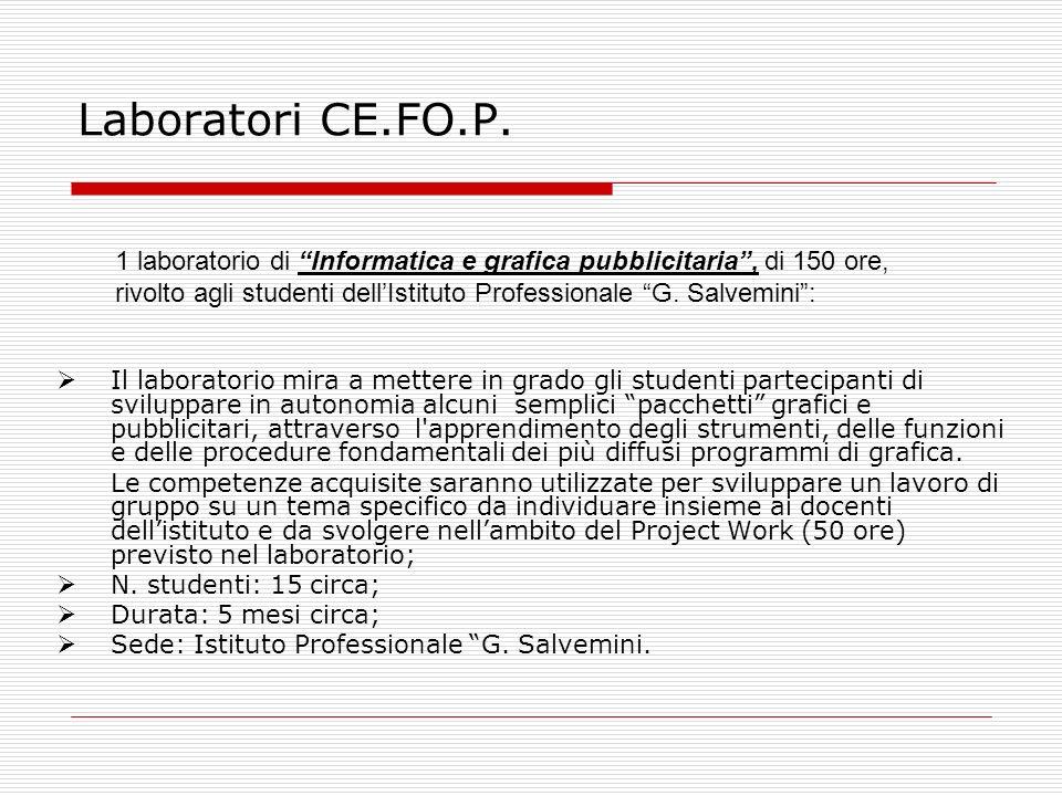 Laboratori CE.FO.P.