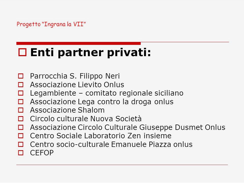 Scuole partner: I.C.Leonardo Sciascia I.C. Giovanni Falcone I.C.