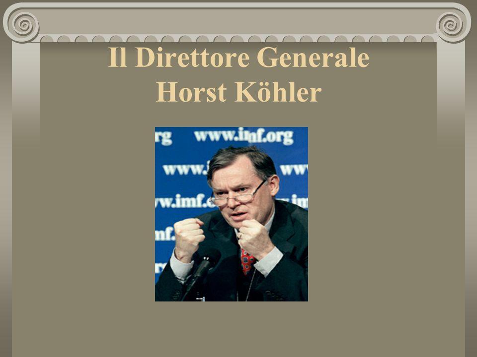 Il Direttore Generale Horst Köhler