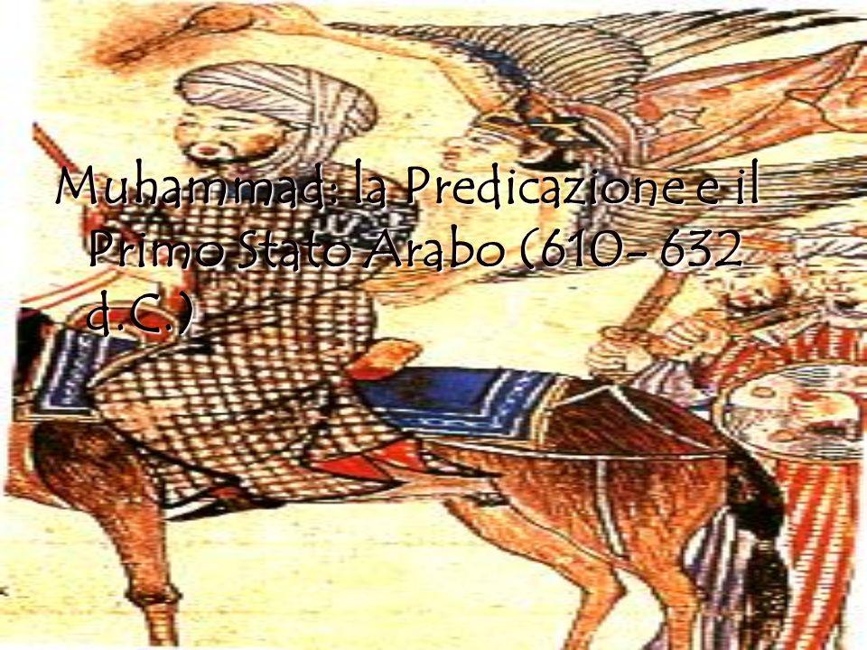 Secondo la Tradizione, la Rivelazione comincia nel 610 d.C., quando Muhammad riceve, durante un ritiro spirituale sul monte Hira, fuori Mecca, la visita dellArcangelo Gabriele e la prima sura ( capitolo) del Libro Sacro, il Corano.