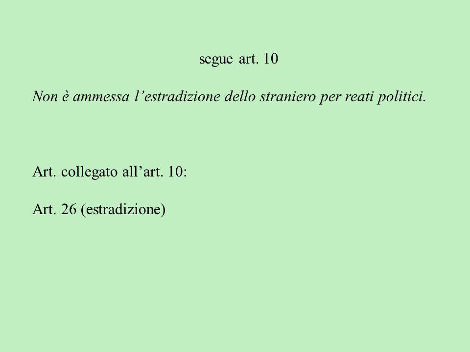 Lo straniero, al quale sia impedito nel suo Paese leffettivo esercizio delle libertà democratiche garantite dalla Costituzione italiana, ha diritto da