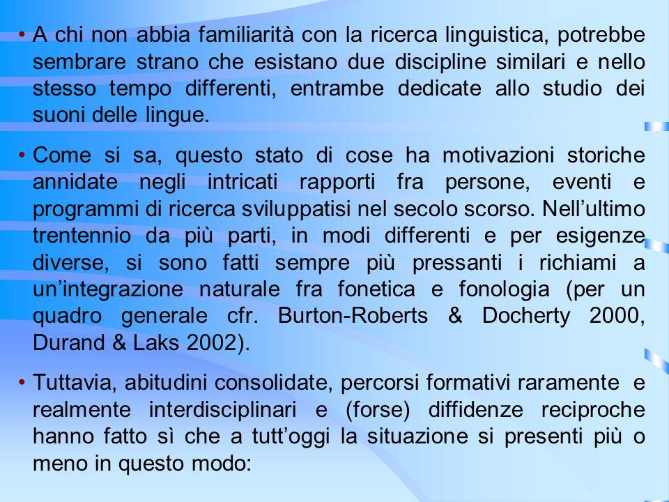 A chi non abbia familiarità con la ricerca linguistica, potrebbe sembrare strano che esistano due discipline similari e nello stesso tempo differenti,