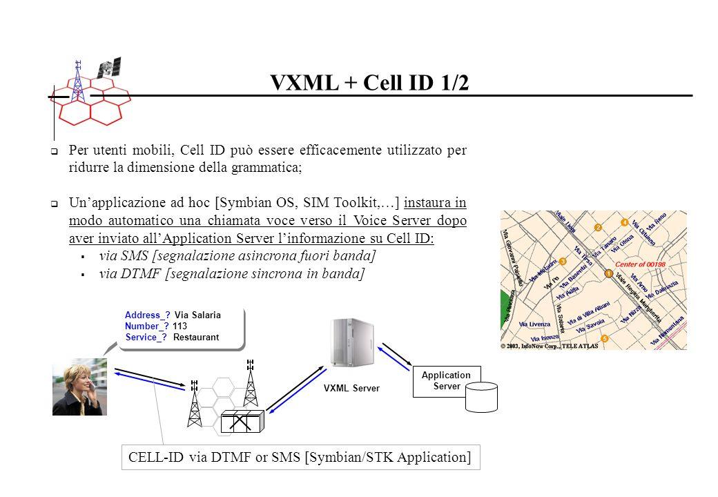 Per utenti mobili, Cell ID può essere efficacemente utilizzato per ridurre la dimensione della grammatica; Unapplicazione ad hoc [Symbian OS, SIM Tool