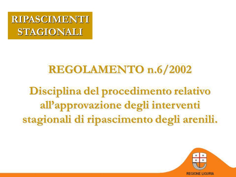 DOVE TROVARLA? D.G.R. 429/2009 (ex D.G.R. 222/2003) www.ambienteinliguria.it PERCORSO home/acque/acque marine/dinamica costiera e opere marittime/oper