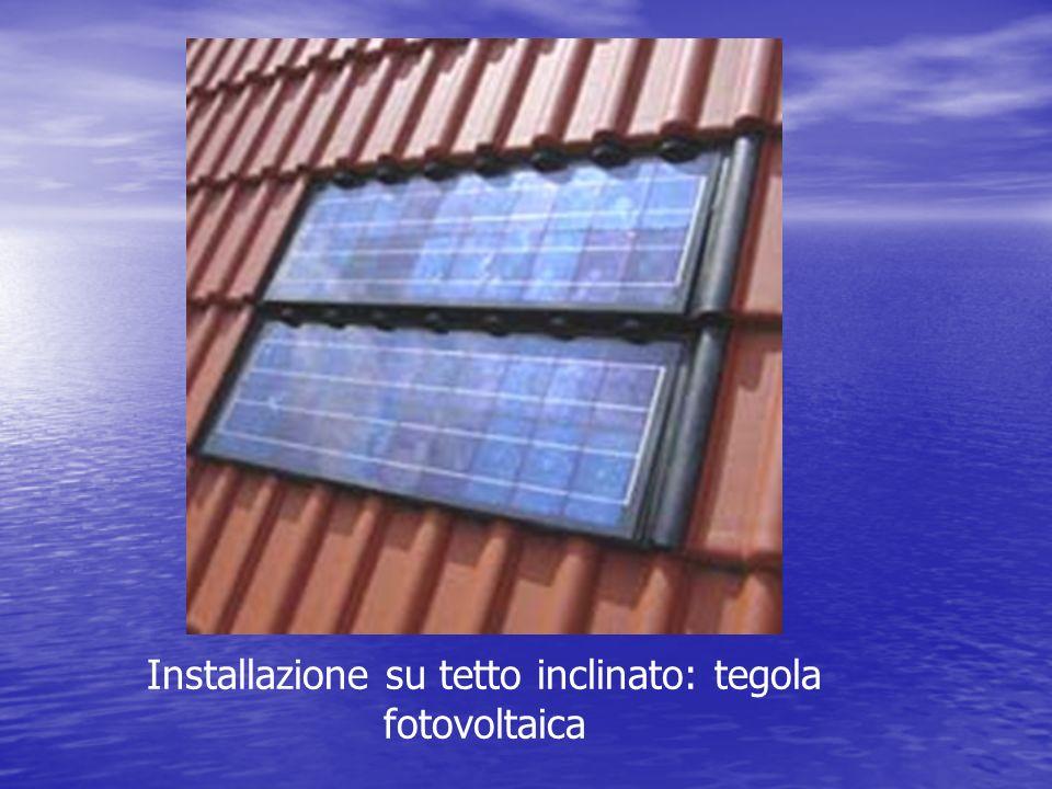 Installazione su tetto inclinato: tegola fotovoltaica