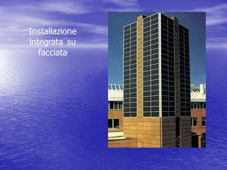Installazione integrata su facciata