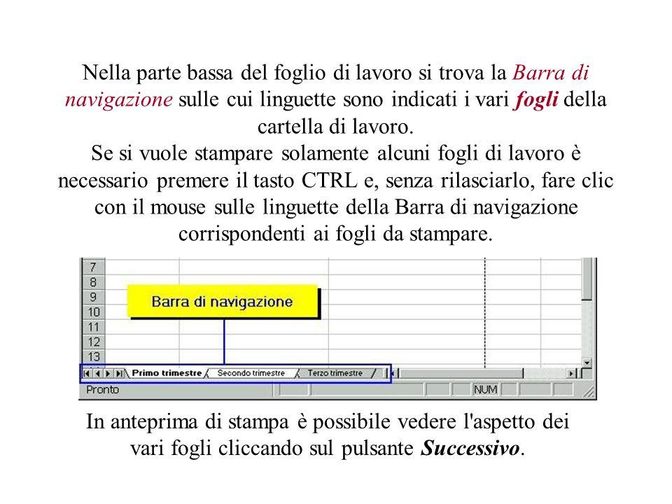Con il comando Imposta, poi, è possibile regolare a proprio piacimento i quattro margini del foglio.