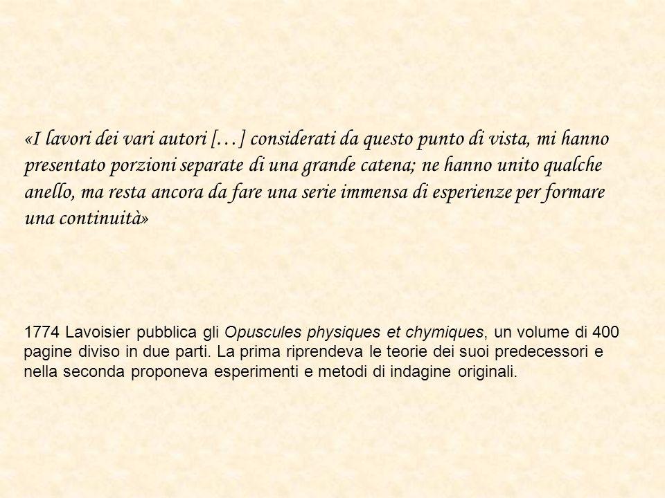 Carl Wilhelm Scheele rispose a Lavoisier indicando un metodo per la preparazione di unaria particolarmente atta a sostenere la fiamma di una candela partendo da argento e acido nitrico e successiva decomposizione termica.