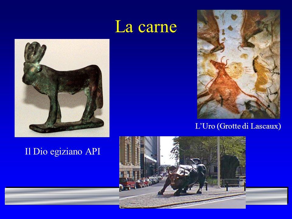 La carne LUro (Grotte di Lascaux) Il Dio egiziano API