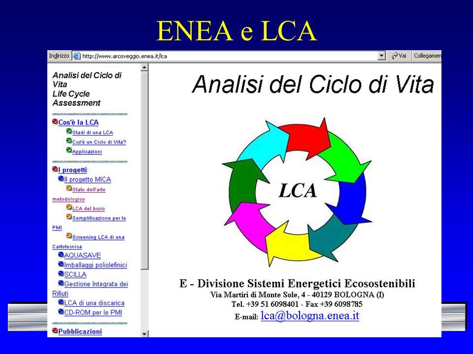 ENEA e LCA