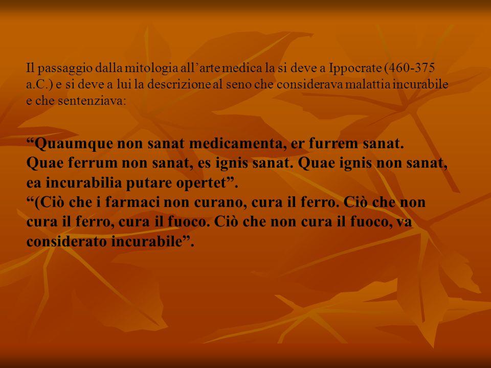 Andando avanti nel tempo citerò Democede, Un medico della scuola di Crotone (VI sec.