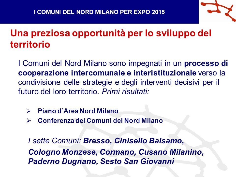 I Comuni del Nord Milano sono impegnati in un processo di cooperazione intercomunale e interistituzionale verso la condivisione delle strategie e degli interventi decisivi per il futuro del loro territorio.