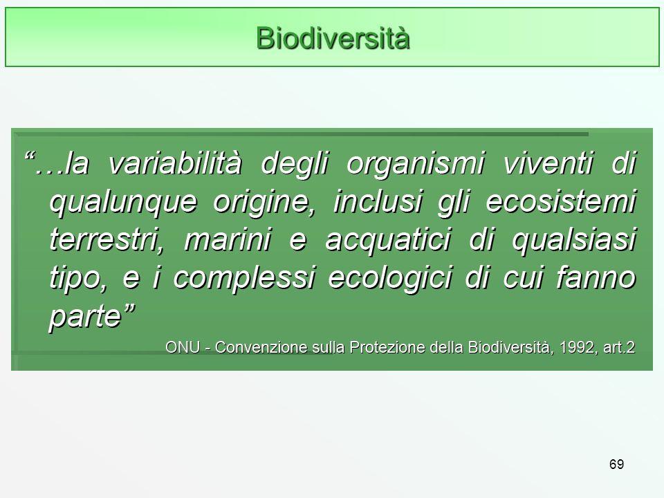 69 Biodiversità