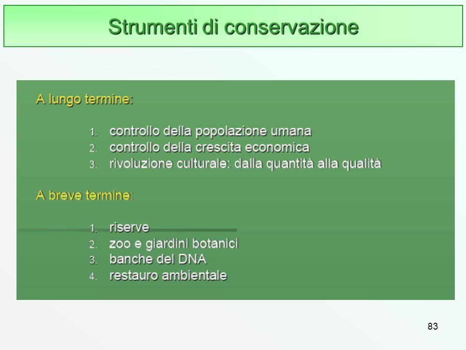83 Strumenti di conservazione