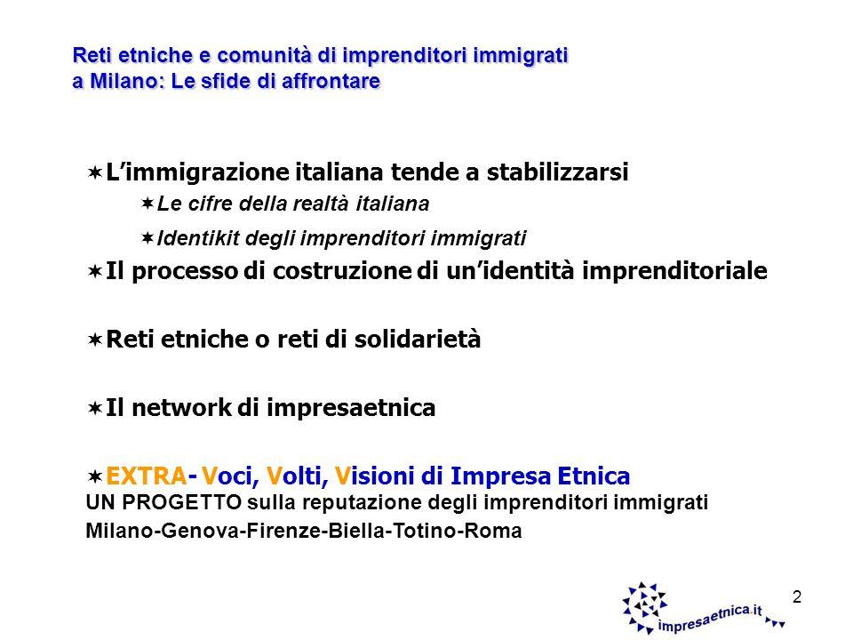 3 Il 6,1% del Pil dItalia grazie agli immigrati Il 68% dei 130mila nuovi ingressi nasce da ricongiungimenti familiari.