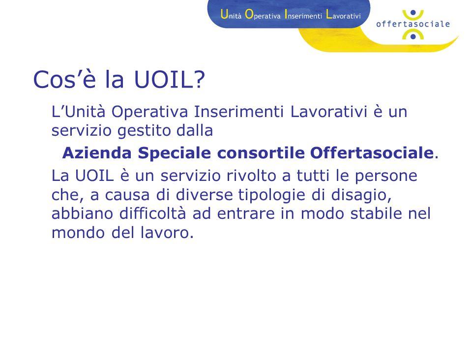Cosè la UOIL.