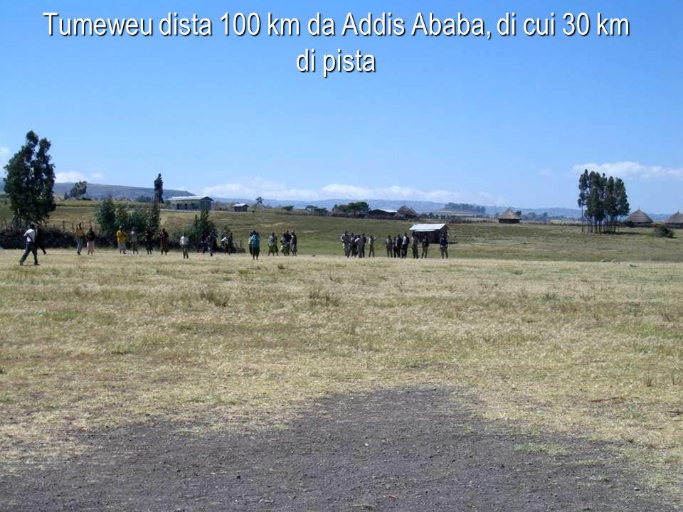 Bekelu vive nellarea di Tumeweu, una zona rurale della provincia dello Shoa, distretto di Tole (regione Oromia)