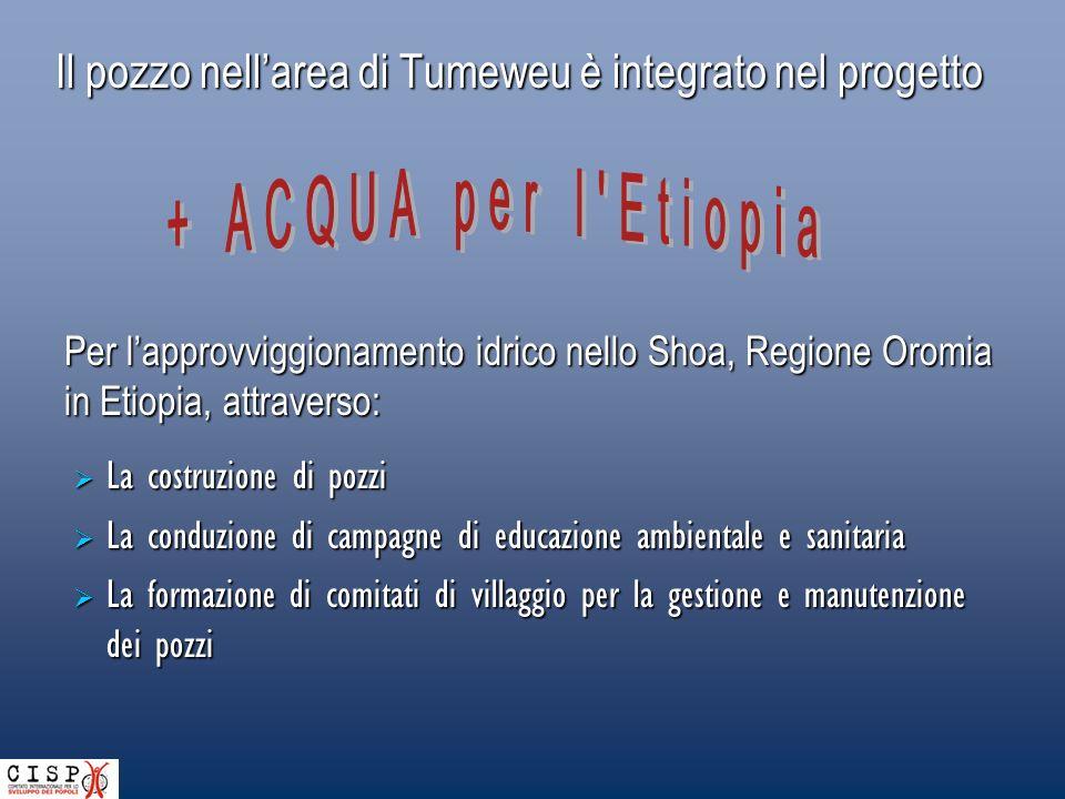 Nellarea di Tumeweu è in costruzione un pozzo per Bekelu