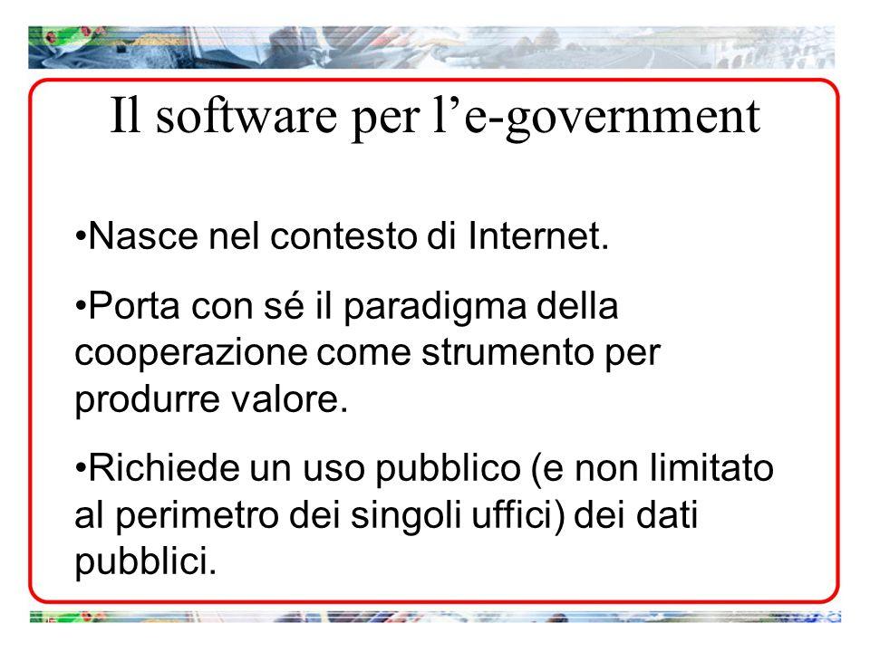 Nasce nel contesto di Internet. Porta con sé il paradigma della cooperazione come strumento per produrre valore. Richiede un uso pubblico (e non limit