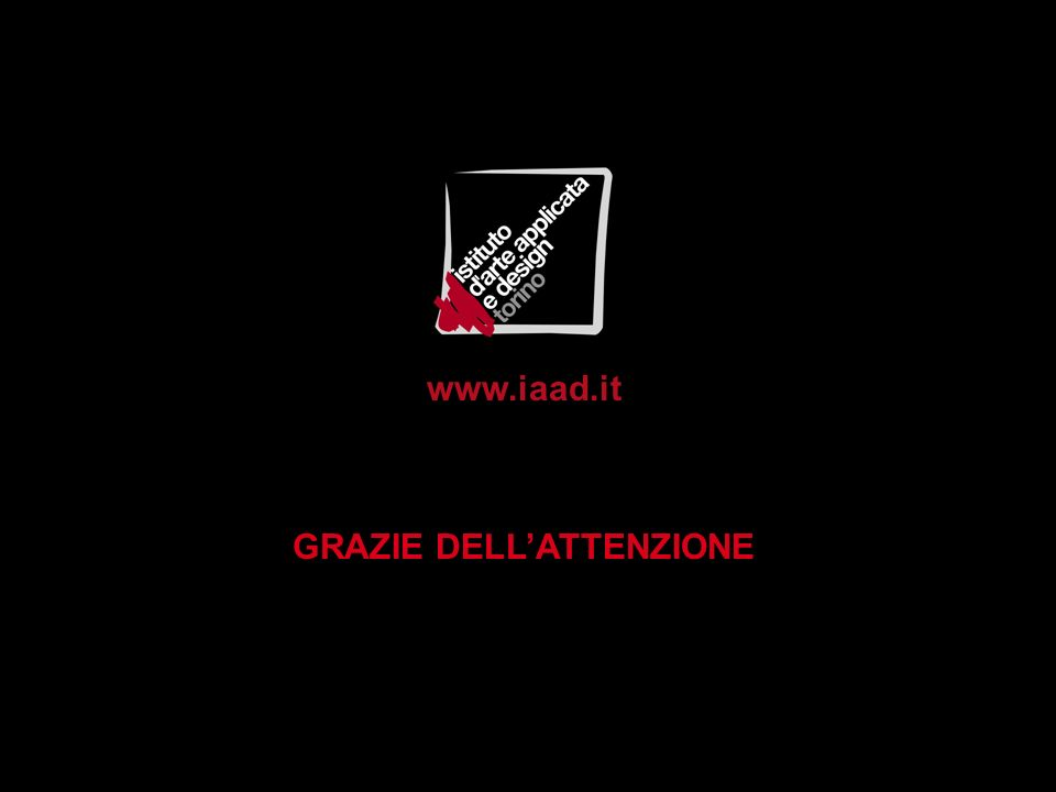www.iaad.it GRAZIE DELLATTENZIONE