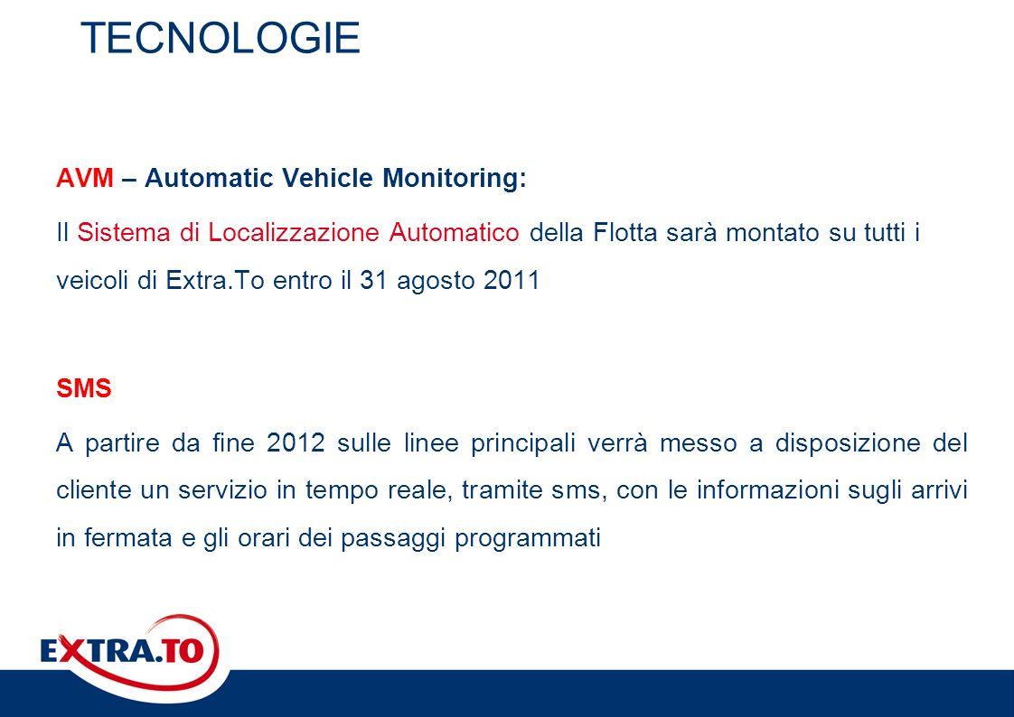TECNOLOGIE AVM – Automatic Vehicle Monitoring: Il Sistema di Localizzazione Automatico della Flotta sarà montato su tutti i veicoli di Extra.To entro