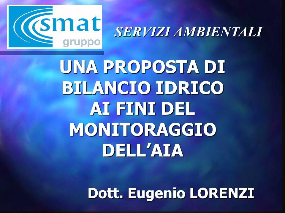 SERVIZI AMBIENTALI GESTORE DEL SERVIZIO IDRICO INTEGRATO NELLATO 3 TORINESE ( in associazione con ACEA di Pinerolo ): Delibera ATO n° 173 del 27/12/2004